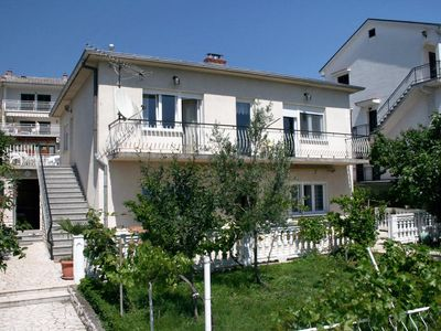 Photo for Two bedroom apartment with terrace and sea view Selce, Crikvenica (A-5475-a)