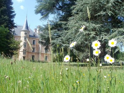Photo for Family castle in a 5 hectares park between Lyon and St Etienne