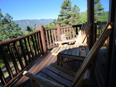Photo for Spacious Log Mountain Home with Amazing Views in Ideal Location
