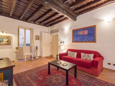 Photo for Apartment in the center of Rome with Air conditioning, Washing machine (9787)
