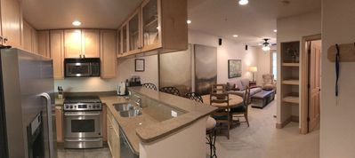 Photo for Luxurious One Bedroom Condo!  Walk to Ski Lift and Main Street!
