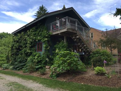 Photo for Great location. Private & quiet, convenient to University of Michigan & downtown