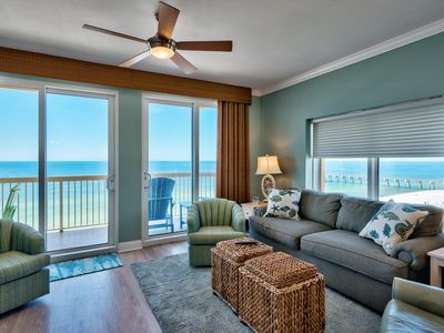 Photo for RENOVATED & UPDATED UNIT! OPEN 10/26-11/2! WALK TO PIER PARK!