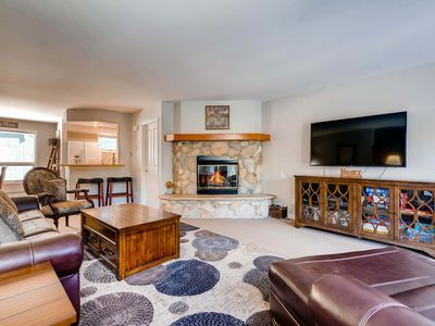 Photo for Exquisitely Adorned Townhome Situated on Mountain Stream - Unbeatable Views!