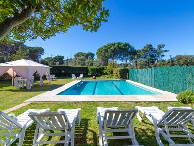 Photo for Club Villamar - Nice house with private pool and beautiful garden with plenty of privacy to enjoy...