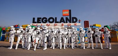 Legoland - a 5 minute drive from Pixie Place