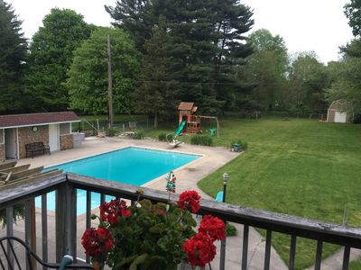 Family Fun, Clean Home with POOL. Perfect Notre Dame weekend destination!