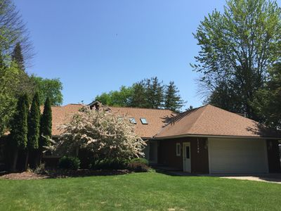 Photo for ON LAKE CHARLEVOIX - LOVELY, PRIVATE  4 BEDROOM HOME 5 MINUTES FROM DOWNTOWN
