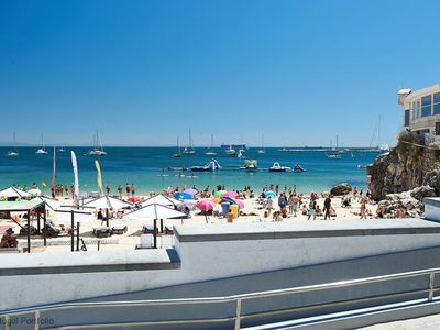 Photo for Central & unique 3BR apart in Cascais, sleeps 6 - 2 min from Beach