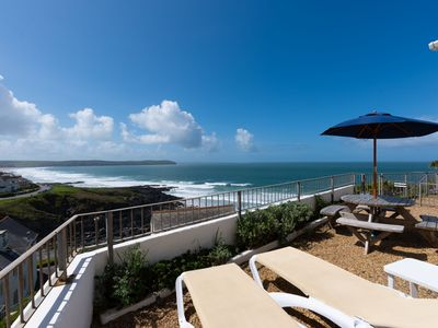 Photo for 3-bedroom holiday cottage in Woolacombe with sea views and within walking distance of the beach