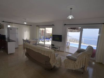 Photo for Villa Beyaz is a rental holiday villa with unseen pool and garden