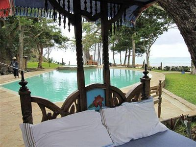 Photo for A luxurious beach villa accommodation for 10 clients in Kenya South Coast beach