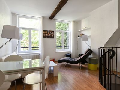 Photo for Bright and charming two-bedroom duplex in the heart of Old Lille - Welkeys