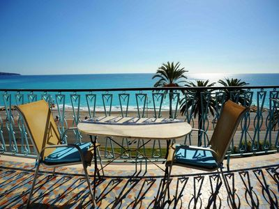 Photo for BA Balcon Vague Bleue / Promenade des Anglais