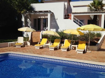 Photo for 4 bedroom luxury villa with sea views near the beach