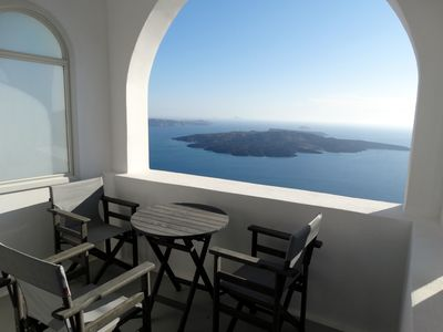 Photo for VillaΥposkafo for up to 6 people - Santorini - Firostefani