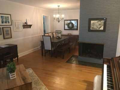 Photo for Charming 3BR/2BA Ranch - Quiet neighborhood less than 1 mile from downtown