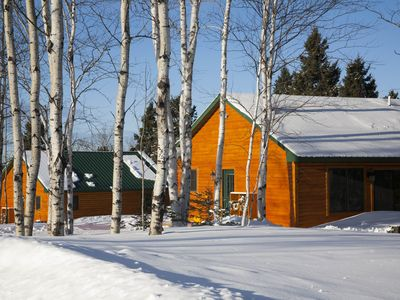 Northwinds Adventures-Brand New Rustic Walleye Cabin 5 Miles to Snowmobile Trail