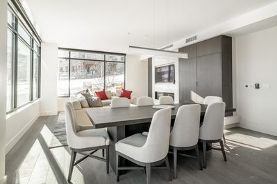 Dining Area - An open dining and living area creates a great flow for entertaining.