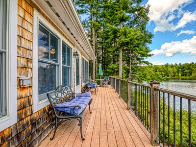 Photo for Lakefront home w/ private dock, kayaks, canoe & incredible views!