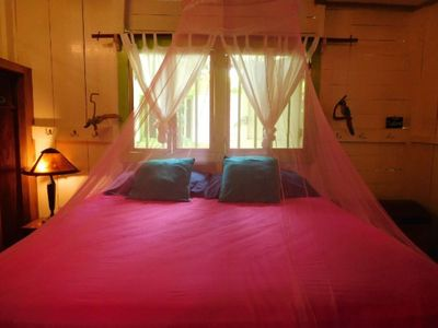 Photo for Romantic cabana with King Size bed!