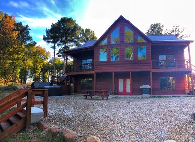 Brand New And Totally Secluded On The Mt Fork River Broken Bow