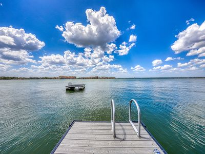 Photo for NEW LISTING! Waterfront home w/ a furnished deck & fireplace - dogs welcome!