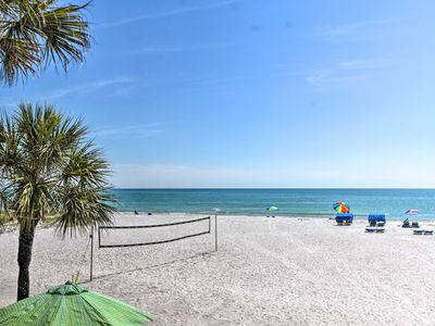 Photo for NEW! Beachfront Indian Shores Condo w/ Pool Access