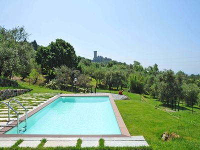Photo for LAST MINUTE OFFER! Villa / 5 Terre / Private Pool, A / C, WiFi, few mins beaches