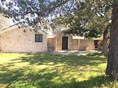 Photo for Wonderful Trullo del Nonnino, immersed in nature and beauty