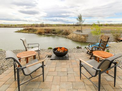 Photo for NEW LISTING! Dog-friendly, waterfront suite w/ patio & on-site golf, near lake