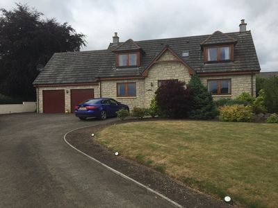 Photo for Luxury 5 bedroom Country Villa with Hot Tub Alyth,Blairgowrie Perthshire