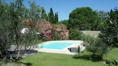 Photo for House 4 bedrooms with pool, between sea and mountains, in the heart of the village.