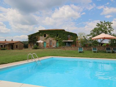 Photo for Farmhouse in Sorano with Swimming Pool, Terrace, Barbecue