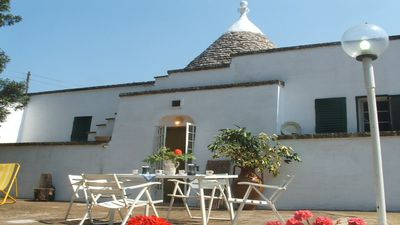 Photo for Beautiful Vacation in typical Trullo for Groups, with Yard, 3 bedrooms in Ostuni