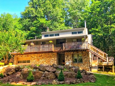 Photo for Best View of The Priest Mountain! Only 1/2 mile from Crabtree Falls, sleeps 4