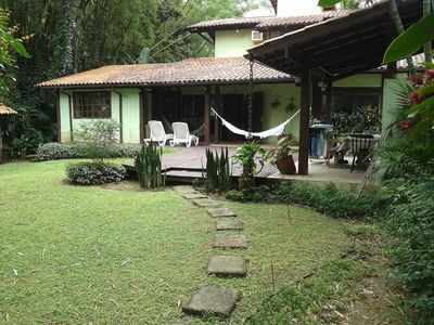 Photo for The 900m from the beach, near the mountain, with complete privacy and comfort