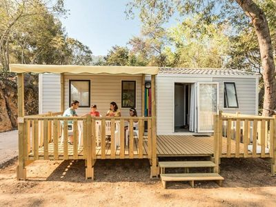 Photo for Camping Lacasa **** - Mobil Home Bahia Duo 3 Rooms 4 People