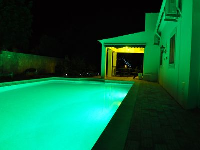 Photo for Magnificent villa very private pool. Excellent Close To Town Location, Sleeps 9