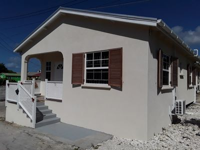 Photo for Cay Cape - Newly Build Air Conditioned Bungalow near Silver Sands Beach