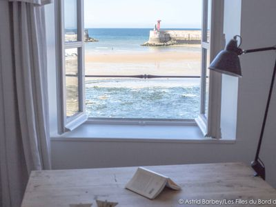 Photo for D-Day landing beaches, large house for 6 people in front of the sea