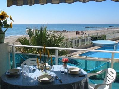 Photo for Nice accomodations between the pool and the Mediterranean