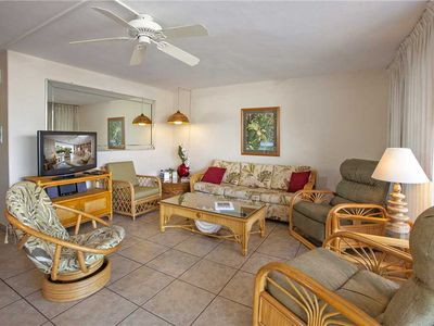 Photo for Maui Parkshore two bedroom ground floor condo sleeps 6. #114