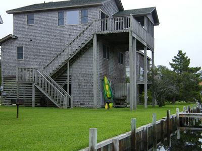 Photo for Magnificent Sound View In Updated Home, Pier/Dock, B-Bikes, Kayak More..