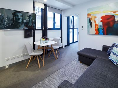 Photo for Stylish One Bedroom with Urban Convenience