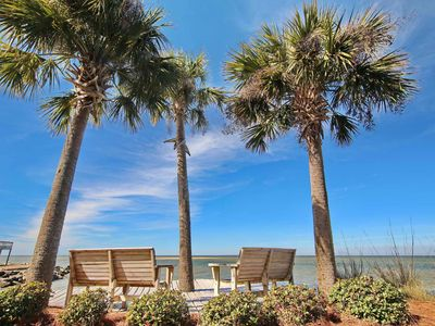 "Photo for Sunset views from this Bayfront beauty - bring your fishing poles! Private dock, pet friendly, 5br/4.5ba ""Sunset Point"""