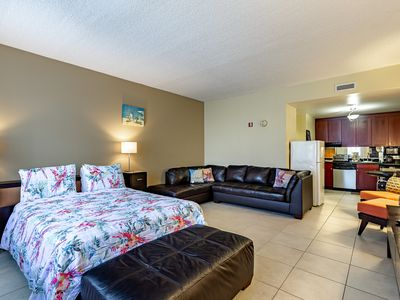 Photo for Across the street from beach & amenities! Free WiFi/Parking. Self Check in!