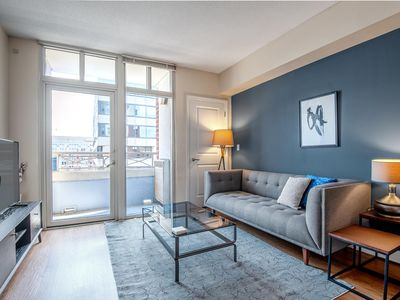 Photo for Lovely Downtown 1BR w/ Gym + W/D near Convention Center by Blueground