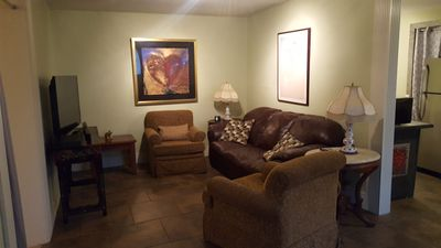Photo for Near Downtown, 1BR Carriage House, Swimming Pool, Private Parking, Pets OK