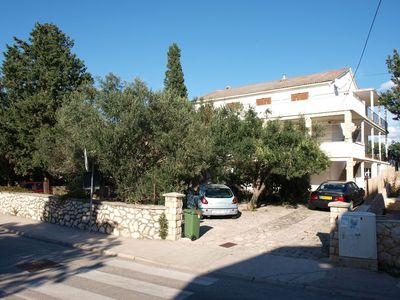 Photo for Apartment in the center of Novalja with Air conditioning, Parking, Balcony (461459)